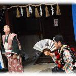 10/14~15 大須大道町人祭で花團治が辻狂言!